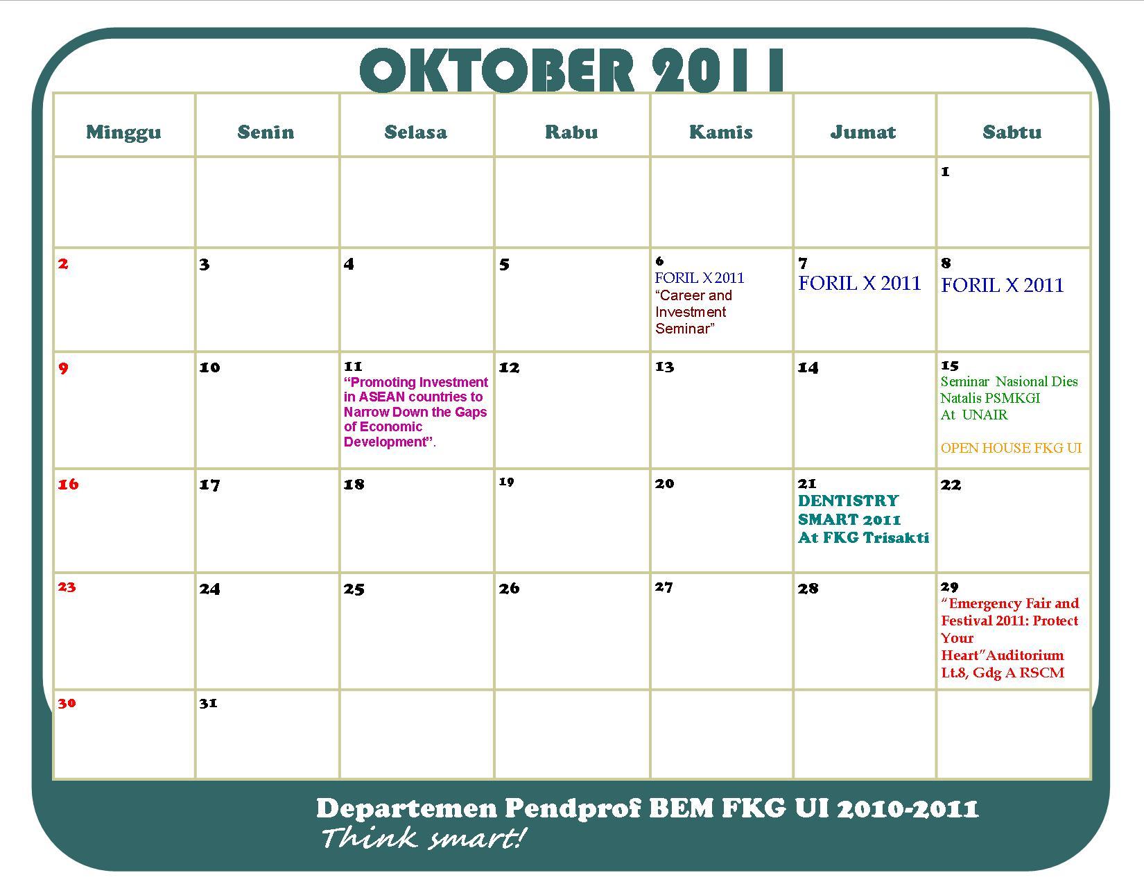 Bulan 2011 Pcab Bulan Oktober 2011